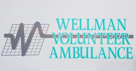 Wellman Volunteer Ambulance | Emergency Medical Services   Always on Call - Always Professional - Saving Lives